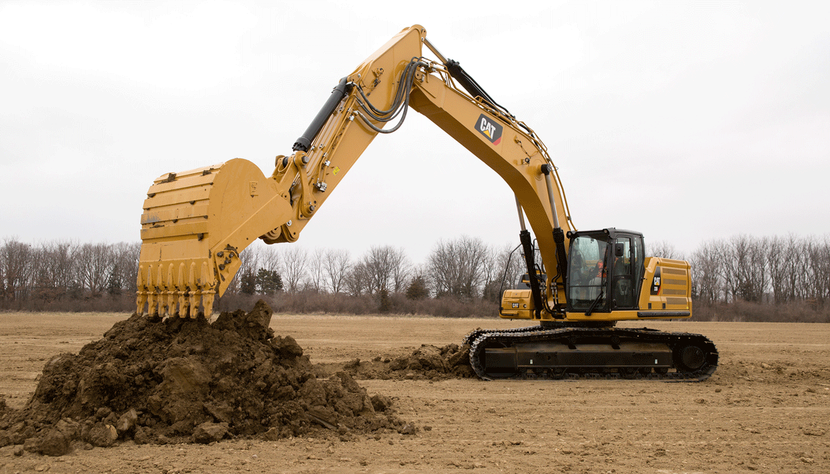 336 Hydraulic Excavator for Pipeline Construction