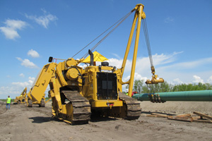 72h pipelayer sideboom