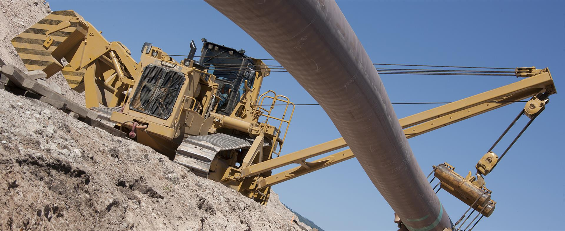 572R2 pipelayer sideboom pipeline construction equipment