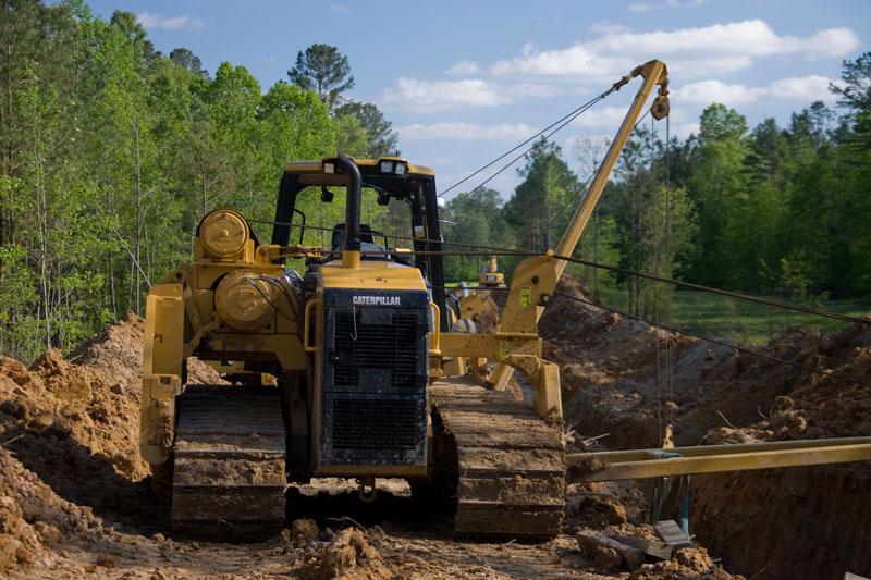 Pl61 Pipelayer Sideboom Pipeline Construction Equipment